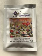 Wild Flower Seeds, Meadow Mix, ONLY FLOWERS - 10 g-Bulk,Bargain